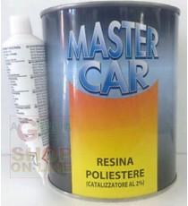 MASTERCAR RESINA POLIESTERE CON CATALIZZATORE ML.750