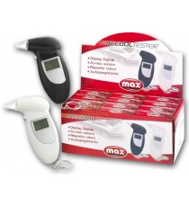 MAX ALCOOL TESTER CON DISPLAY DIGITALE