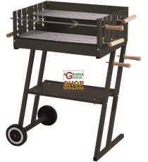 BARBECUE A CARBONE IN ACCIAIO STEAK HOUSE CM.60X45X90H